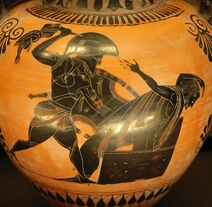 Amphora death Priam Louvre F222