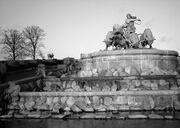 Gefion fountain by Anders Bundgaard I