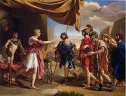 Gottlieb Schick Achille and Agamemnon 1801