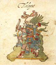 Tlaloc, Codex Rios, p.20r