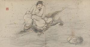Album of 18 Daoist Paintings - 16