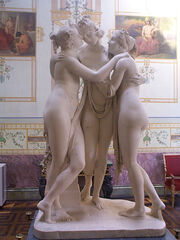 Canova-Three Graces 0 degree view
