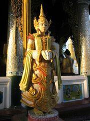 Thagyamin at Shwedagon Pagoda