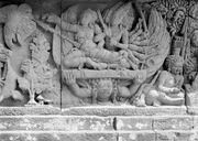COLLECTIE TROPENMUSEUM Reliëf op de aan Shiva gewijde tempel op de Candi Lara Jonggrang oftewel het Prambanan tempelcomplex TMnr 10016191