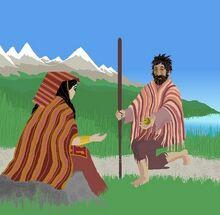 Cahuillaca y Cuniraya