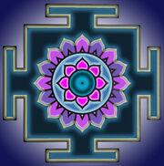 Dhumavati yantra color