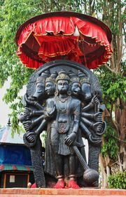 Five headed Hanuman