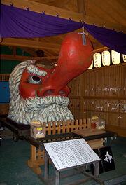 Tengu shrine in Beppu
