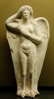 Funerary siren Louvre Myr148