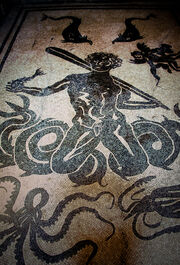 Herculaneum - Triton mosaic (4779912168)