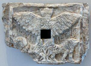 Relief Im-dugud Louvre AO2783