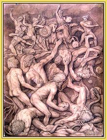 Gigantomaquia - dibujo-2