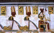 Nepret, Renenutet and Hu as cobras (KV11)
