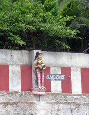 Statue of Yamuna nadhi-Amirthakadeswarar Temple, Selaiyur