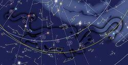 Constelacion tortuga negra