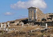 Temple of Isis, Delos 02