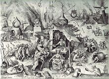 220px-Pieter Bruegel the Elder- The Seven Deadly Sins or the Seven Vices - Avarice