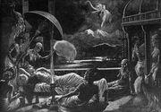 Maya dream of the Birth of Gautama Siddharta