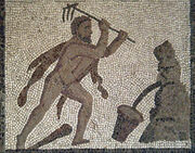 Mosaico Trabajos Hércules (M.A.N. Madrid) 05