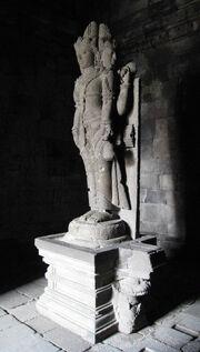 Brahma Statue in Prambanan