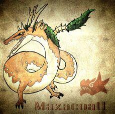 Mazacoatl mexican horned dragon by ah puch zegno-d8sj878