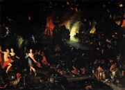 Jan Brueghel (I) - Orpheus in the Underworld - WGA03564