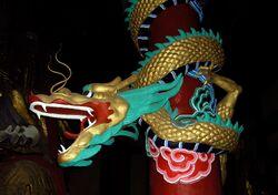 Fengdu Ghost City - dragon