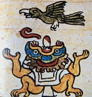 Tlaltecuhtli codex painting