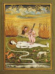 Chinnamasta with Shiva