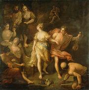 Jean Raoux – Orpheus and Eurydice
