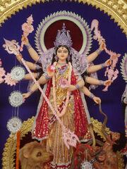 Durga idol 2011 Burdwan