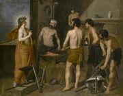 Velázquez - La Fragua de Vulcano (Museo del Prado, 1630)