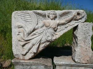 Goddess Nike at Ephesus, Turkey