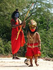 Ramlila artists