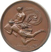 Pandora medal 1854