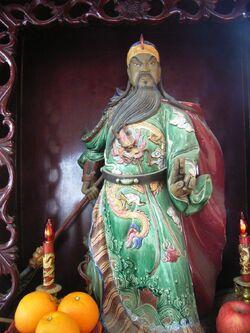 Guan Yu figura