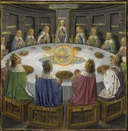 Holy-grail-round-table-bnf-ms fr-116F-f610v-15th-detail