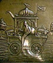 Dhumavati silver panel