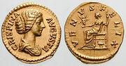 Crispina Augusta-aureus-RIC 0287
