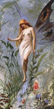 Falero Luis Ricardo Lily Fairy 1888
