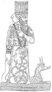 Marduk y dragon