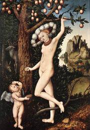Cranach, Cupid Complaining to Venus