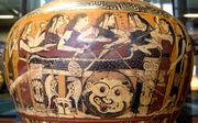 Mourning of Akhilleus Louvre E643
