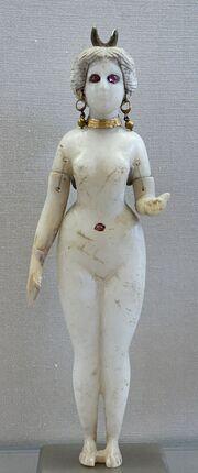 Statuette Goddess Louvre AO20127