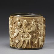 Byzantine - Circular Pyxis - Walters 7164 - View A
