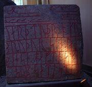 Runestone from Sønder Kirkby, Falster, Denmark