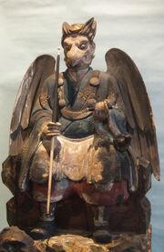 Karasu-Tengu-Statue