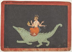 Varuna, the God of Waters LACMA M.72.4.2 (1 of 3)