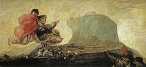 Vision fantástica o Asmodea (Goya)