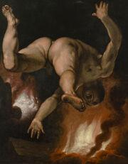 Cornelis Cornelisz. van Haarlem - The Fall of Ixion - Google Art Project